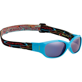 Alpina Sports Flexxy Kids Glasses cyan